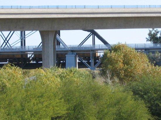 Highway And Railroad Picture Of Hilton Garden Inn Yuma Pivot Point Yuma Tripadvisor