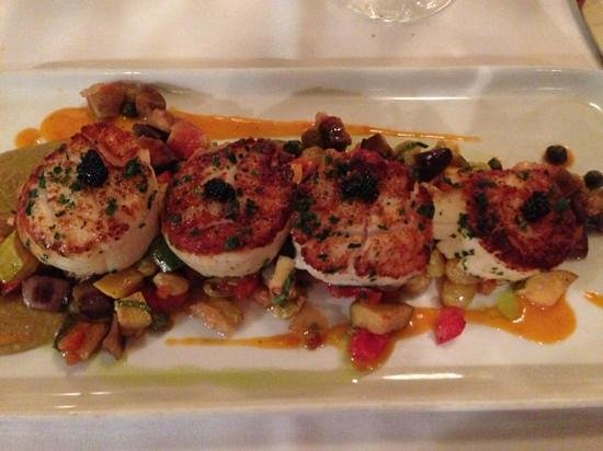 Satterfield's Restaurant: scallops 3