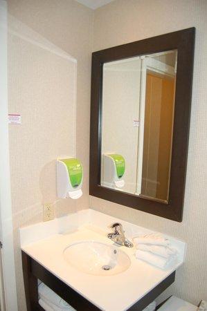 Skyline Hotel & Waterpark : la salle de bains