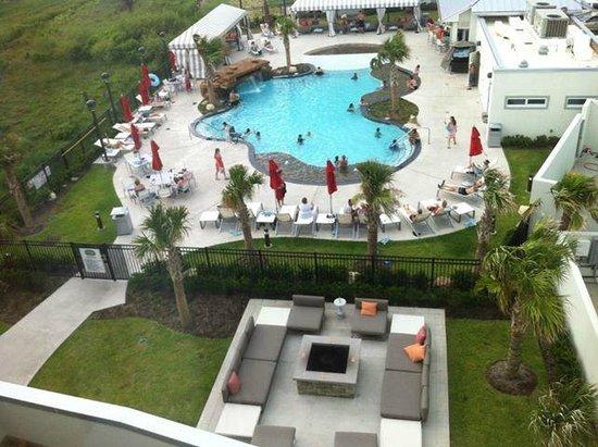 Courtyard by Marriott Galveston Island : Amazing Pool Area