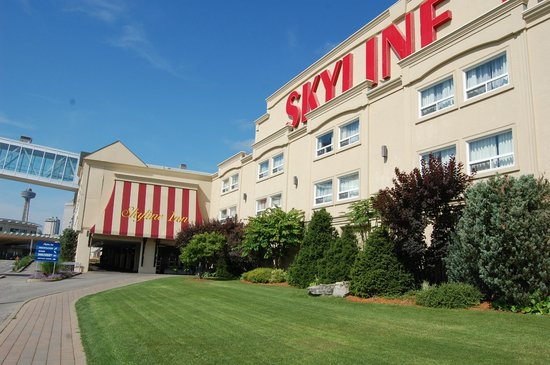 Skyline Hotel & Waterpark: vue de l'hotel