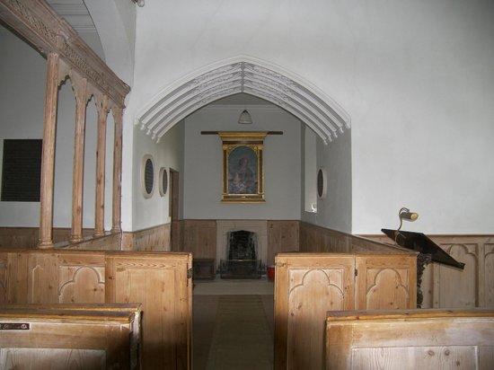 Parham House & Gardens: St. Peter's Church, Parham