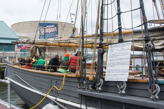 Independence Seaport Museum : Amistad visit