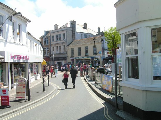 Trevellis Bed and Breakfast: Newquay town
