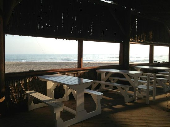 Tiger Reef Beach Bar & Grill: Tables