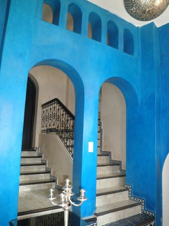 Lina Ryad & Spa: It's a blue place