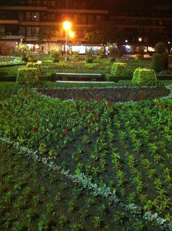 The garden of Santa Barbara