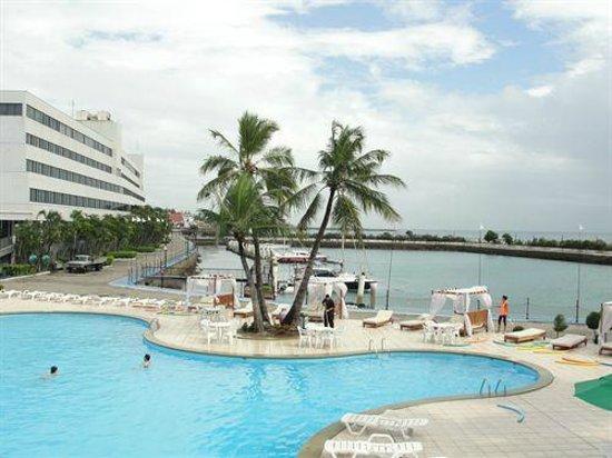 Marina Park Hotel: Vista parcial
