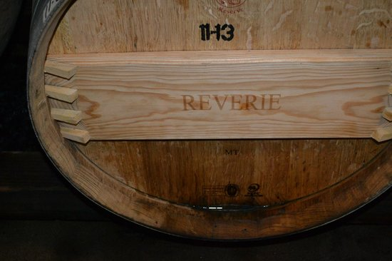 ‪‪Reverie Winery‬: Barrel in the Cave‬