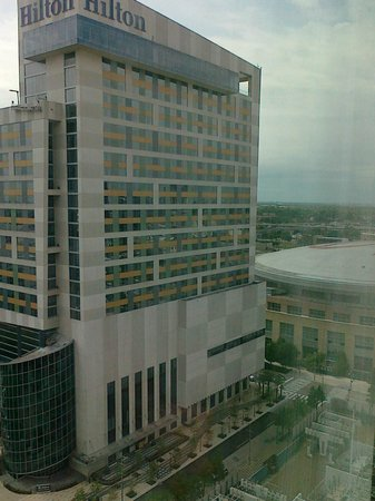 Embassy Suites by Hilton Houston Downtown: another photo from our room on the 18th floor