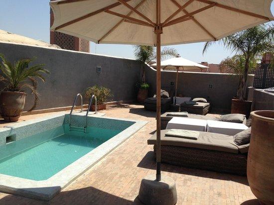 Riad Awa : Terrasse