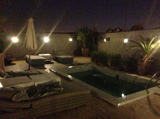 Riad Awa: Terrasse