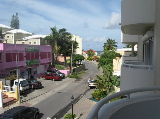 Atrium Beach Resort and Spa: View from room 200 balcony