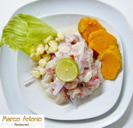 Marco Antonio Restaurante: Ceviche de pescado