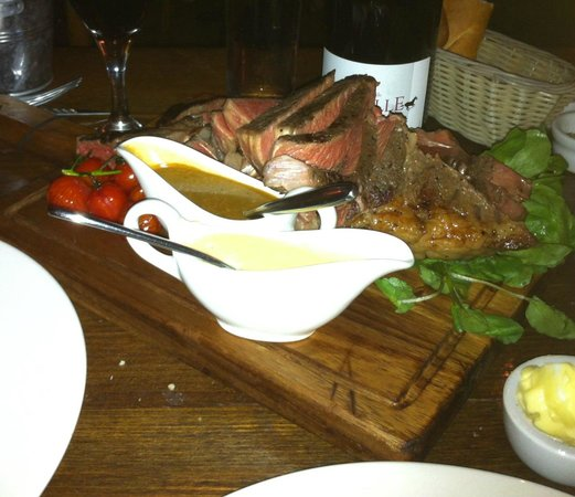 Kendells Bistro: never eat steak like this one,delicious!Must try!