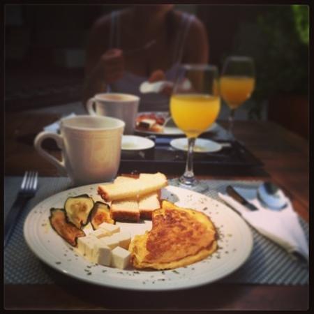 La Casa del Farol Hotel Boutique: Desayuno