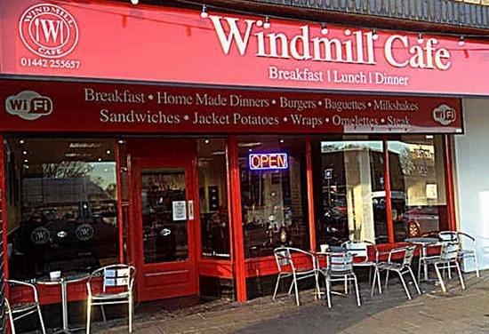 Windmill Cafe: windmill