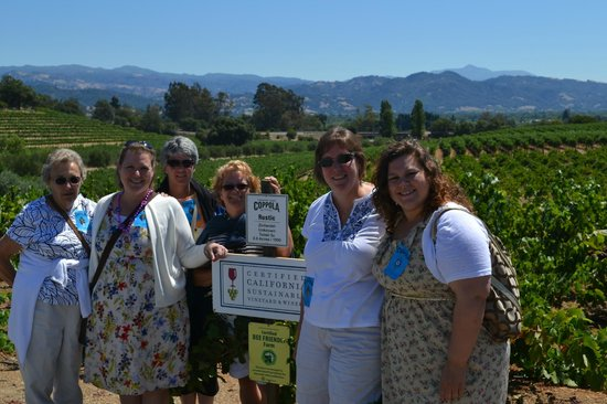 Francis Ford Coppola Winery: 50th Birthday Celebration