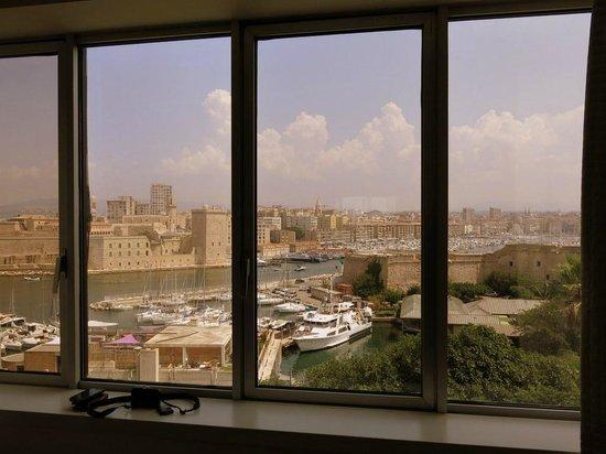 Sofitel Marseille Vieux-Port : view from restaurant
