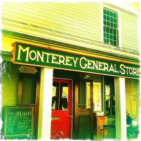 The Monterey General Store: Front Porch...