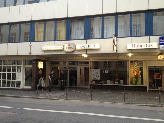Hanau, Germany: Eingang zum Restaurant