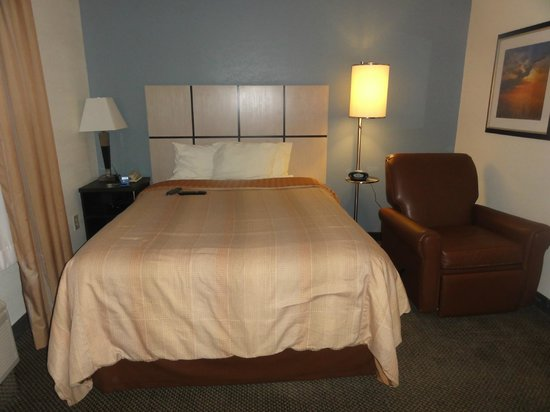 Candlewood Suites Chicago O'Hare : Queen bed