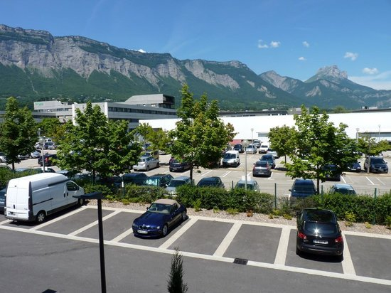 Appart'City Confort Grenoble Inovallée : vista dalla camera