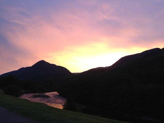 Allt-na-Leven: Sunset from Allt Na Leven