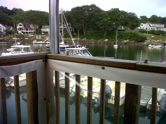 view from table, Market at Annisquam