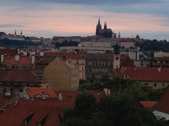 Clarion Hotel Prague Old Town: View from our hotel window