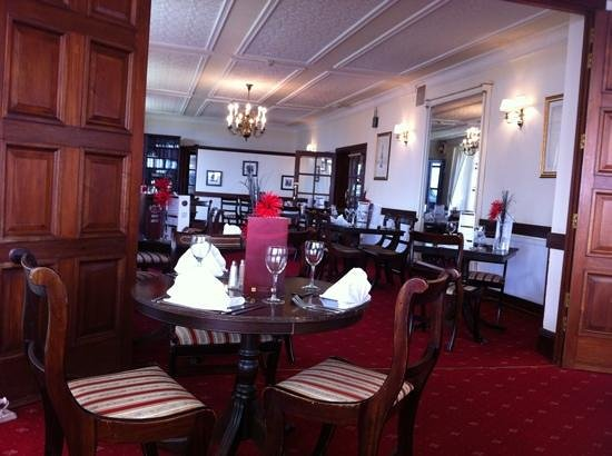 Atlantic Hotel Porthcawl: dining room