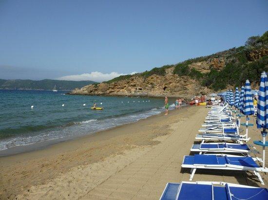 Hotel Antares: spiaggia