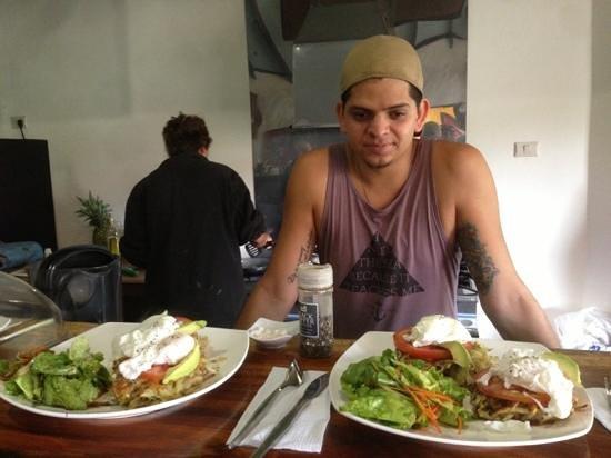 Moca Cafe: Sebastian, Owner, Chef, Food artist, Mixologist