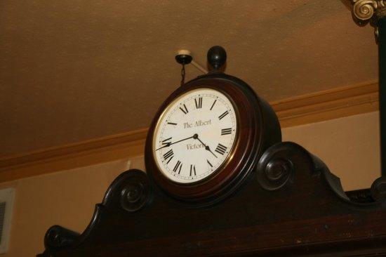The Albert : clock
