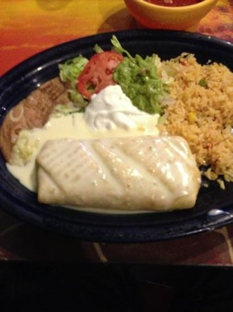 Tampico Mexican Restaurant: beef chimy