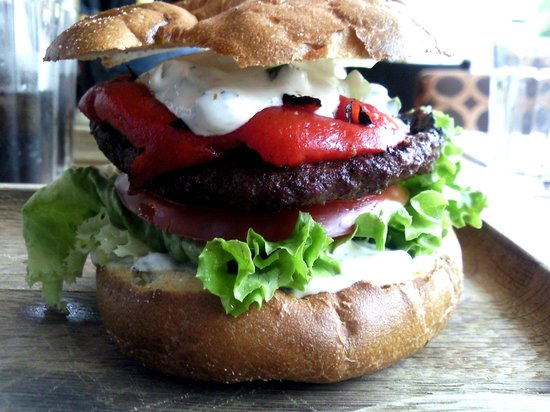 Giraffe - Milton Keynes: Bring back the lamb burger!