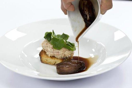 Snogebæk, Danemark : Riette of Bornholmer pork