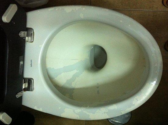 Bora Bora The Hotel: Wc sin comentarios...