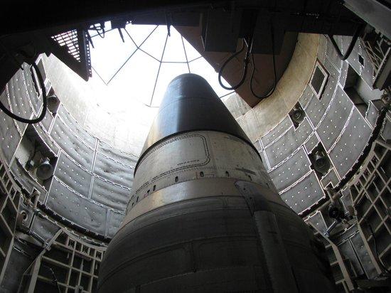 Titan Missile Museum: Titan II (oefenmodel) in de silo