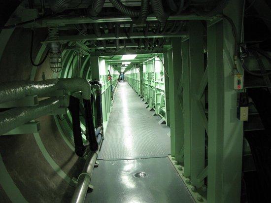 Titan Missile Museum: De verbindingstunnel tussen silo en controlekamer