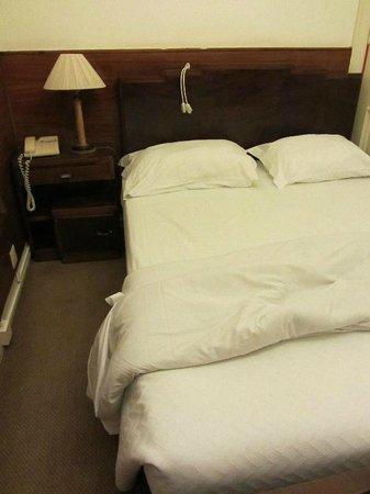Hotel Astoria : Cama e carpete