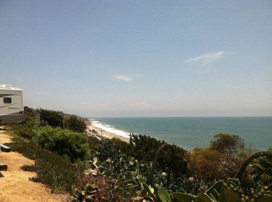 Malibu Beach RV Park : View from the first level