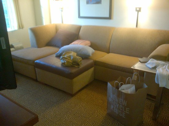 Hyatt Place Philadelphia / King of Prussia: The  sofa