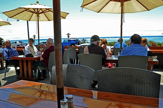 Moonstone Beach Bar & Grill: Ocean View