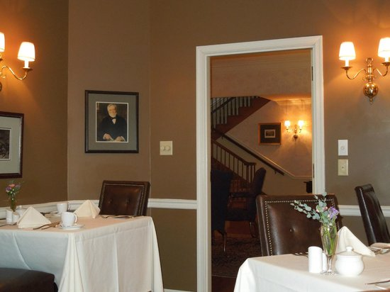 Carnegie Inn & Spa : Dining room at Carnegie Inn