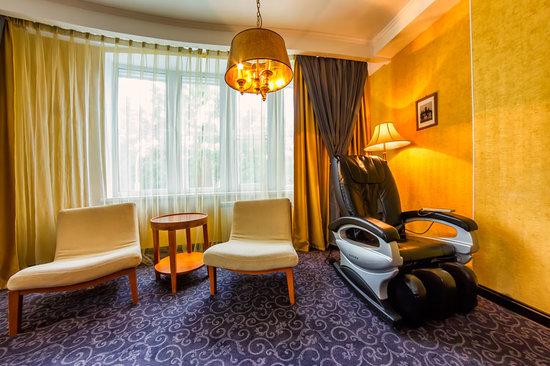 Boutique-Hotel Khabarovsk City: Люкс Золотой