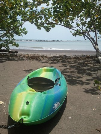 Luna Negra: Kayaking out your front door