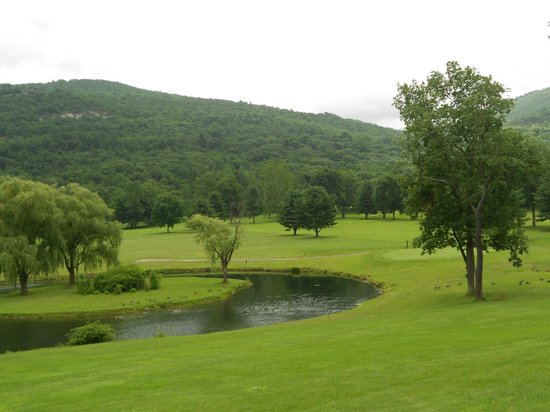 Honor's Haven Resort & Spa: View of the golf course