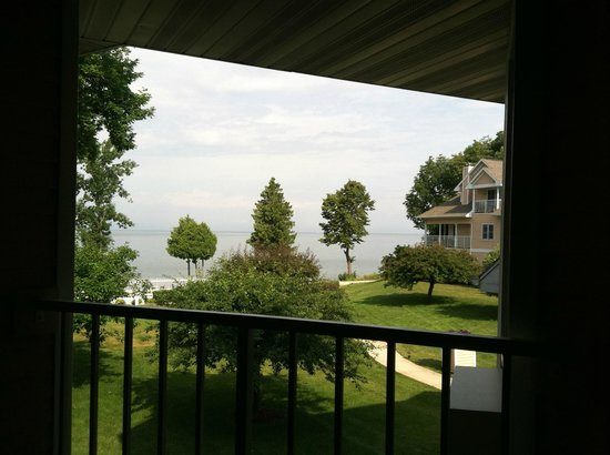 Westwood Shores Waterfront Resort: from our balcony