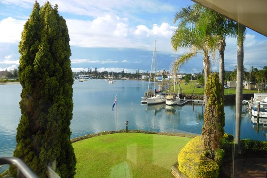 Sails Resort Port Macquarie - by Rydges: View from our room, back towards Port Macquarie